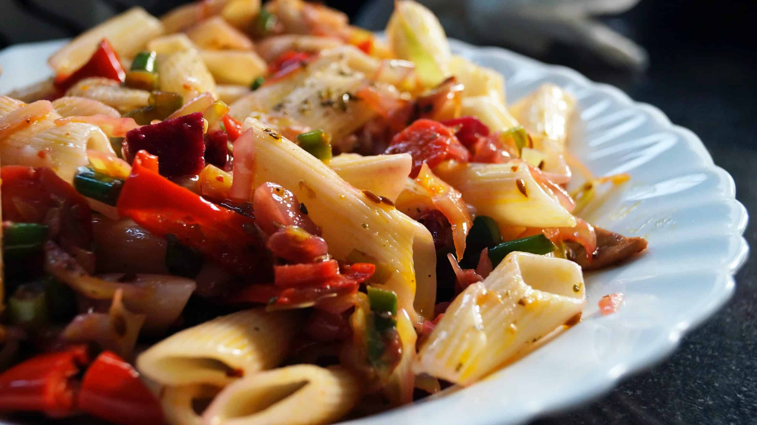 Pasta Salad: Preparing Your Own Healthy Meal